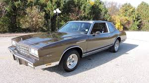 1984 Chevy Monte carlo For sale at www coyoteclassics com - YouTube