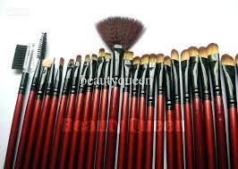 mac professional makeup brush set brush kits professional makeup brushes cosmetic set high quality goat hair