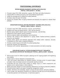 piping designer resume