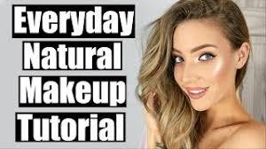 everyday natural makeup tuto