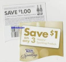 Sparkling Image Coupons Details About 25 Coupons 1 Off Any 3 Welchs Sparkling Products 8 31x Welchs