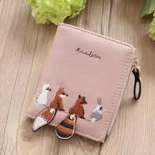 new female <b>short student wallet Korean</b> version of the cute small ...