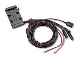garmin zumo 590lm motorbike mount and power cable for sat nav quantity