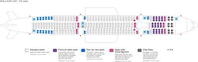 Airbus A310 Seating Chart Air Transat 39 Competent Air Transat A330 Seating Chart