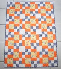 Make Baby Quilts: Resources, Kits, Classes and More | Craftsy & Easy Baby Quilt Adamdwight.com