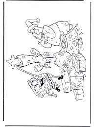 Spongebob A Natale 2 Disegni Da Colorare Natale