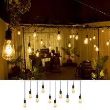 festoon pendant lights