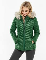 Quilted jacket with a down-wadding filling buy now | TAIFUN & Quilted jacket with a down-wadding filling,pine green,large Adamdwight.com