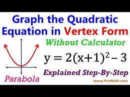 graphing quadratic functions in