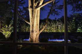 garden lighting project