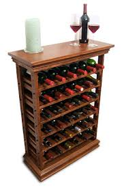 Wooden Wine Rack | wine storagerack with top and baseboard