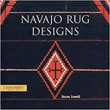 Image Storm Pattern Follow The Author Amazoncom Navajo Rug Designs look West Series Susan Lowell Robin Stancliff