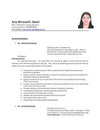 Updated Resume Best 6914 Updated Resume 24 24