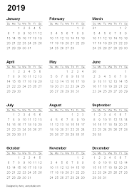 Printable Calendar Pdf Fascinating Free Printable Calendars And Planners 48 And 48