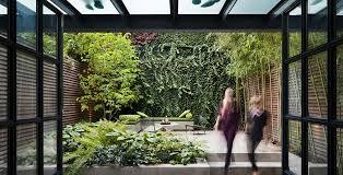 outdoor urban garden interior design