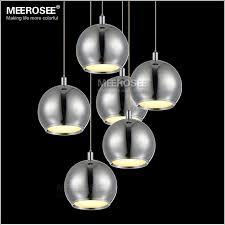 round ball shape led pendant lamp fitting modern led pendant re suspension light stair lamp dining lamp md12150