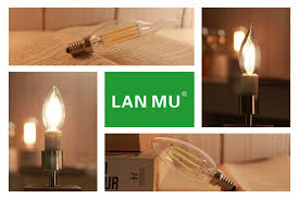 adopting ic constant cur driver the filament bulb possesses le performance and longer life suitable for halls bars office or home use