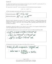 Calculating Molar Mass Of An Oxidant By Iodometry