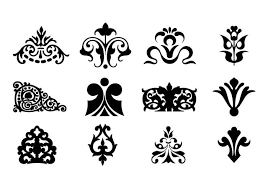 Decorative Design Stunning Decorative Ornaments For Logo Web And Graphic Design Download
