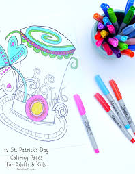 You can print or color them online at getdrawings.com for absolutely free. 12 St Patrick S Day Printable Coloring Pages For Adults Kids Everythingetsy Com