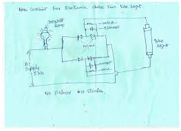 Working Of Tube Light With Circuit Diagram New Circuit For Electronic Choke For Tubelight In 2020
