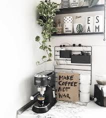Kaffee Ecke In Der Küche Werbung Kaffee Coffeetime