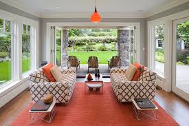 ideas for sunroom furniture. sun porch ideas sunroom contemporary with adirondack chairs folding doors for furniture