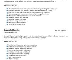 Mining Resume Examples Extraordinary Engineer Samples With Awesome