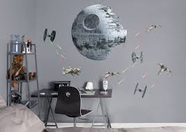 star battle life size officially licensed star wars removable wall decal fathead wall
