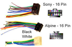 sony car radio wiring harness little wiring diagrams Sony Explode CD Player Manual at Wiring Diagram For Sony Xplod Cd Player