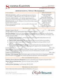 Download Hr Administration Sample Resume Ajrhinestonejewelry Com
