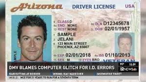 With Driver's Licenses Issues Signatures Photos Adot Incorrect