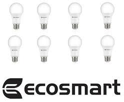 1155 Light Bulb 8 Pack Ecosmart Led Dimmable 75 Watt Daylight Light Bulb