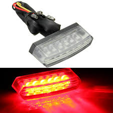 Universal Motorcycle License Plate Light 2019 Universal 6 Led Motorcycle 12v Rear Number License Plate Light Red Lamp E Mark E11 Sae Dot From Sunny16888 16 08 Dhgate Com