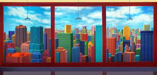 office backdrop. Brilliant Backdrop Image Of Stylized Office Highrise Scenic Backdrop Throughout E