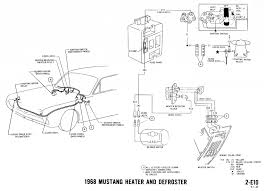 mustang wiring diagrams and vacuum schematics average joe 1968 mustang wiring diagram heater defrost