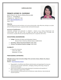 Professional Resume Format Examples Sample Resume Format Custom Resume Format Examples Resume Format 15