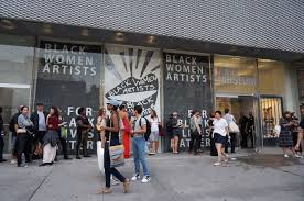 reflections from black women artists for black lives matter black women artists for black lives matter at the new museum photo by the author
