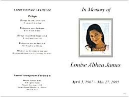 Memorial Service Program Template Funeral Equipped Consequently
