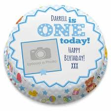 Personalised 1st Birthday Cakes Bakerdays