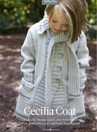"<b>Catimini</b> ""Comedia del Arte"" Grey Floral & Stripes Sweater Coat ..."