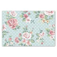 Flower Printed Paper Seattle Slew Floral Print Tissue Paper Napkin Packaging