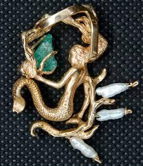 atocha 1622 emerald gold mermaid pirate gold coins shipwreck jewelry pirate gold coins