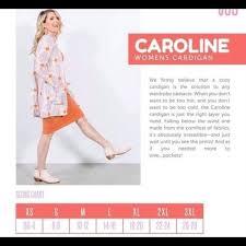 Llr Caroline Size Chart Lularoe Caroline Peach