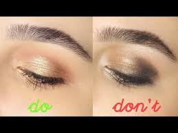 eyeshadow do s don ts 2016 tips and tricks for beginners hooded eyes