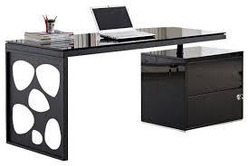 office desk black. Jm Furniture Kd01r Modern Office Desk In Black Contemporary