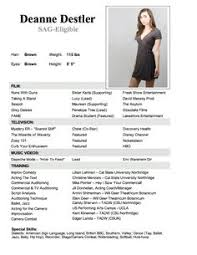 8 Best Acting Resume Images Acting Resume Template Actresses Cv