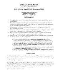... Dazzling Design Resume Experts 2 Subject Matter Expert Doc Resume 4 5  20112211 ...