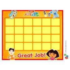 Potty Calendar By Nick Jr Potty Training Concepts
