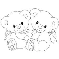 Free Panda Bear Coloring Sheets Pages Printable Page Sheet Teddy